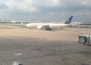Two Saudi aircraft collide at Jeddah airport