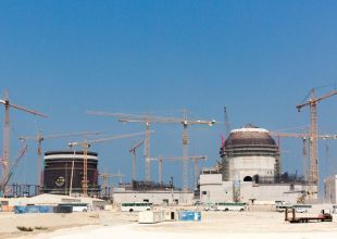 UAE close to completing construction of first nuclear power plant