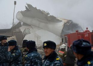 Turkish cargo jet crash kills at least 37 in Kyrgyzstan