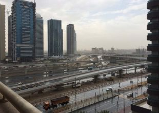 Dubai reports 160 rain-related accidents