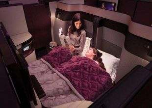 Airline introduces a double bed in business class