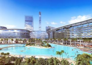 Dubai ruler lays foundation stone for Meydan One