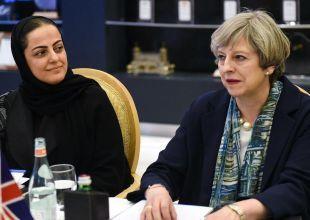 Prime Minister May pitches UK listing for Aramco on Saudi trip