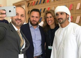 Dubai Crown Prince 'first customer' at new Apple store