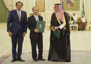 Blackstone, SoftBank deals put Saudi's sovereign fund on the map
