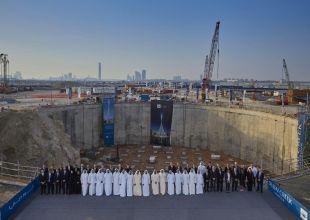 Sheikh Mohammed reviews progress at Dubai's latest mega project