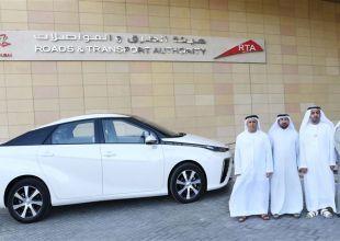 First hydrogen powered Dubai taxi starts trial run