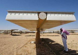 Construction starts on Saudi Arabia's first solar energy project
