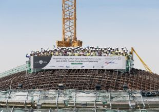 Reactor dome fitted to Abu Dhabi's final nuclear plant