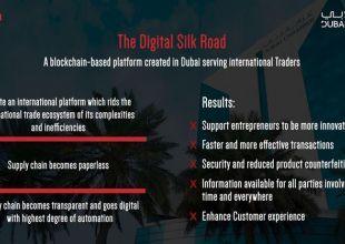 Dubai reveals blockchain plan to revolutionise global trade