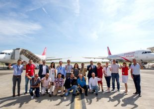 UAE's Air Arabia takes delivery of two Airbus A320s