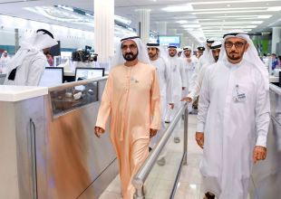 Sheikh Mohammed hails services at Dubai International Airport