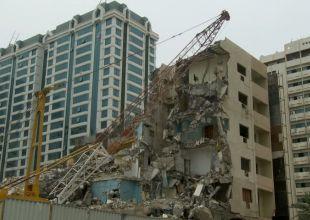 Abu Dhabi demolishes 220 buildings in new crackdown