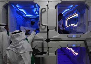 Saudi Arabia tests Japan-inspired 'nap pods' for hajj