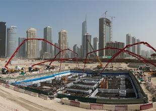 Construction 'proceeding at pace' on Uptown Dubai mega project