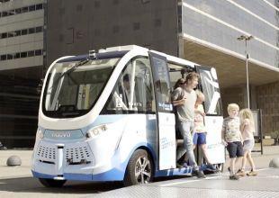 Masdar City unveils first autonomous transport system
