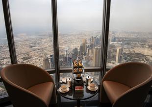 World's highest lounge opens at top of Dubai's Burj Khalifa