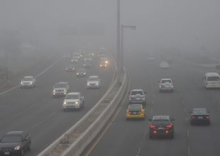 Fog causes accidents involving 68 vehicles in Abu Dhabi