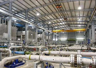 Public, private firms partner to build UAE desalination plant