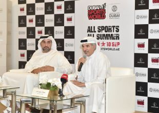 Find out what's new at this year's Dubai Sports World