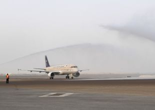 Abu Dhabi welcomes one of first flights from new Saudi airport