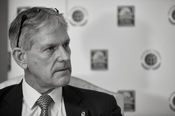 Drilling down: Dana Gas CEO Dr Patrick Allman-Ward