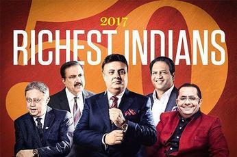 Sunil Vaswani tops Indian Rich List for third year running