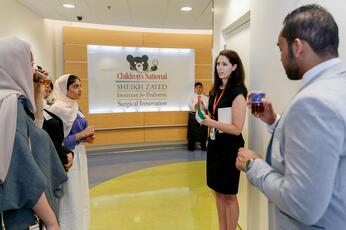 Finding a little piece of the UAE in a Washington hospital