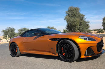 Review: Aston Martin DBS Superleggera Volante