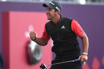 In pictures: Aussie Lucas Herbert wins Omega Dubai Desert Classic