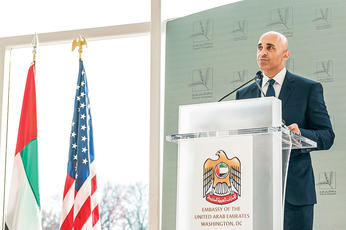 Yousef Al Otaiba: Our man in Washington