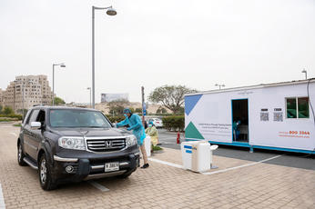 Al Futtaim Group's drive-thru testing stations to carry out 1,000 Covid-19 tests per day