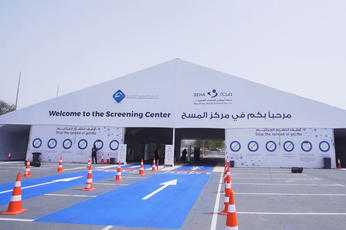Abu Dhabi launches free Covid-19 testing in areas with high population density