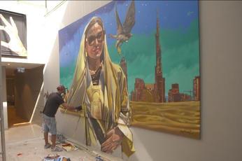 Video: Virtual reality gallery: Dubai art scene goes digital