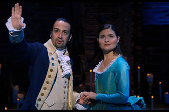 Broadway smash 'Hamilton' to be shown on OSN in Middle East