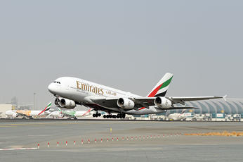 Emirates airline returns A380 to the skies