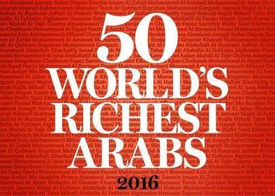 The World's 50 Richest Arabs 2016