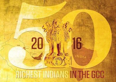 50 Richest Indians in the GCC 2016