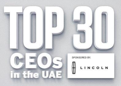 Top 30 CEOs in UAE