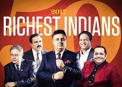 The 50 Richest Indians in the GCC 2017