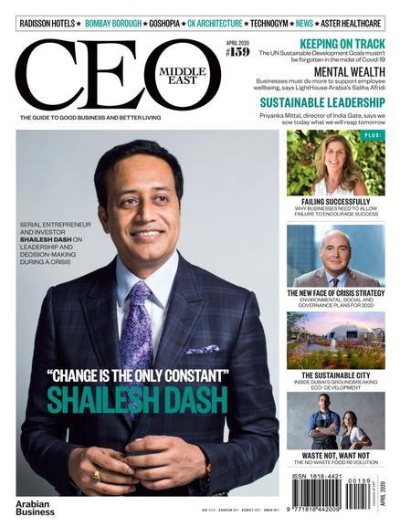 CEO Middle East Magazine April 2020