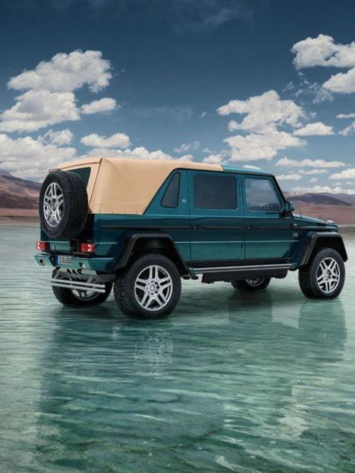 The World S Most Expensive Suv Mercedes Benz Maybach G Class Arabianbusiness