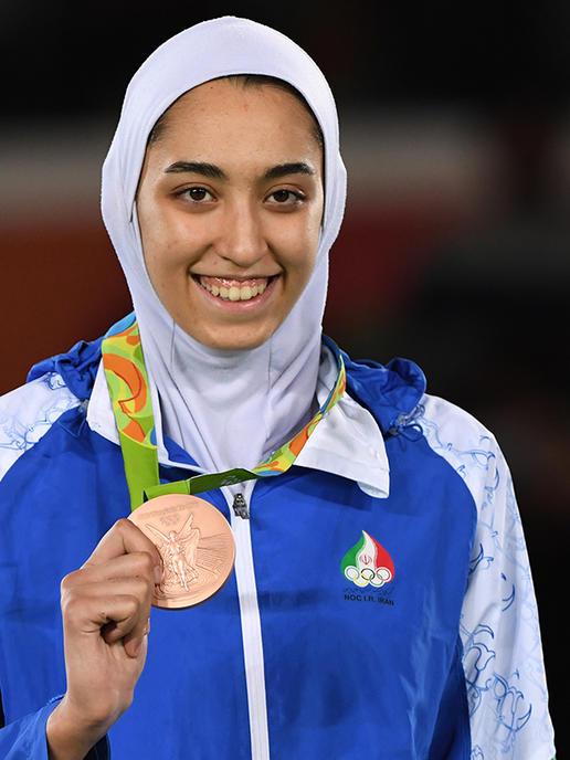 Kimia Alizadeh Zenoorin- First Iranian Female to win Olympic Medal- SportzPoint
