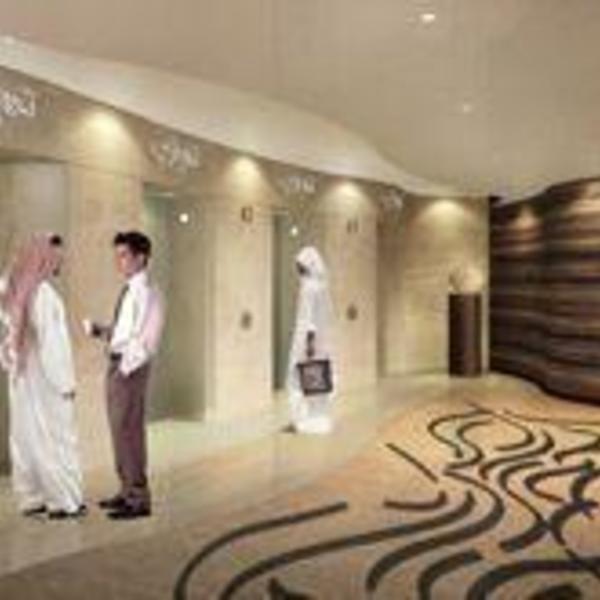 Flowing Arabic Script Inspires Interior Of Burj Dubai Arabianbusiness