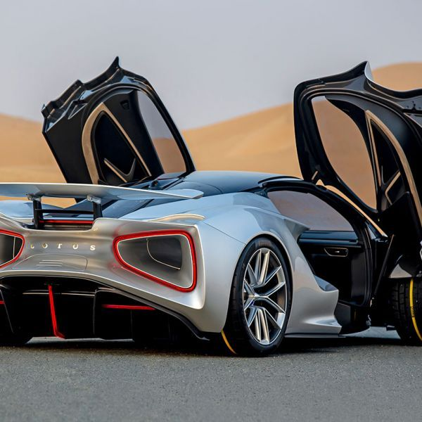 Gallery: Lotus Evija Hypercar Debuts In The UAE