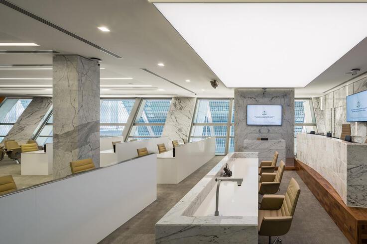ADGM Courts unveils world's first digital courtroom