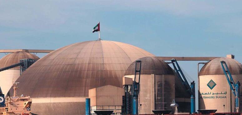 Dubai sugar refinery runs at full speed on good demand