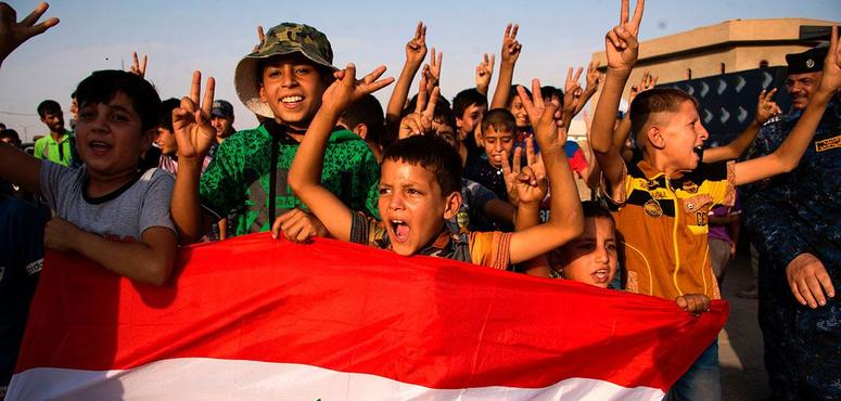 In pictures: Iraq declares victory in liberated Mosul