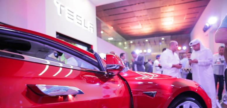 In pictures: Tesla showroom opens in Dubai