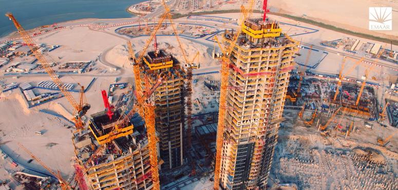 Work progresses on Emaar's new $1bn Dubai supertower